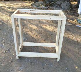 Charmant Diy Firewood And Kindling Storage, Diy, Outdoor Furniture, Rustic  Furniture, Seasonal Holiday