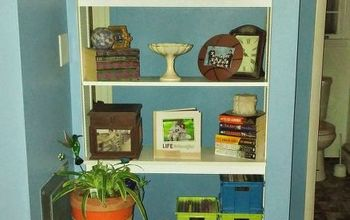 A Floating Bookshelf