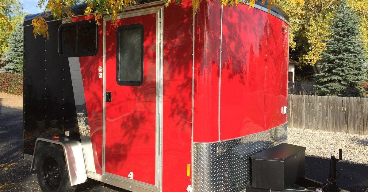 Cargo Trailer Camper Conversion Hometalk