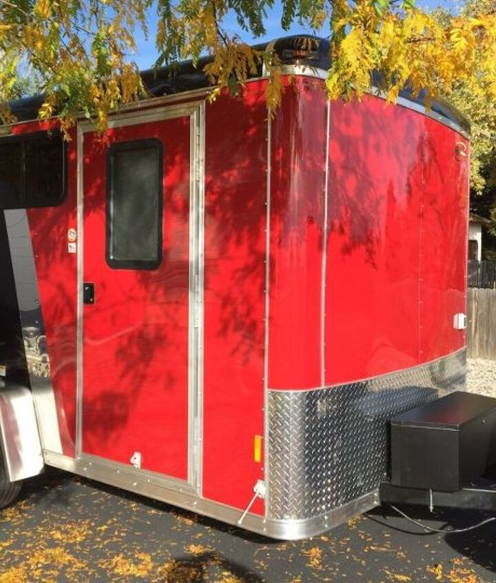cargo trailer camper conversion, diy, home improvement