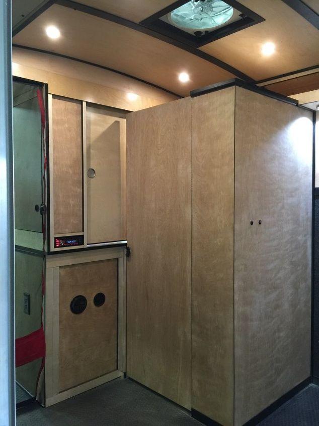 Cargo Trailer Camper Conversion Diy Home Improvement