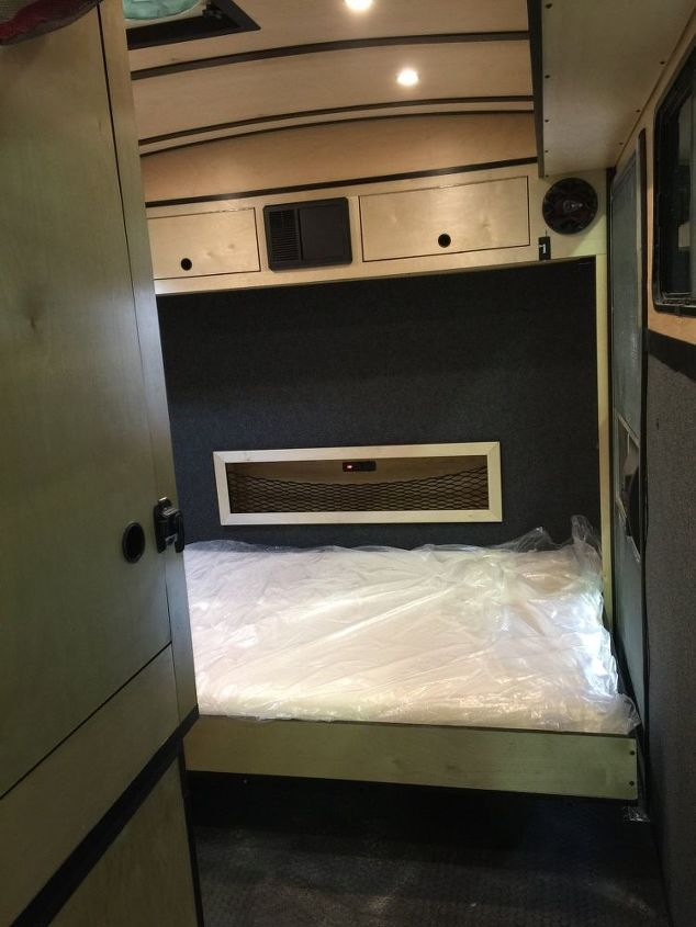cargo trailer camper conversion, diy, home improvement