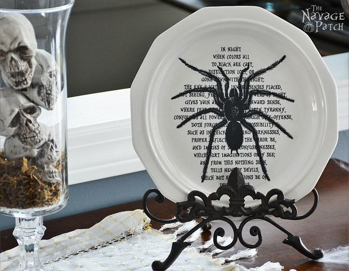 dishes of darkness, crafts, halloween decorations, seasonal holiday decor