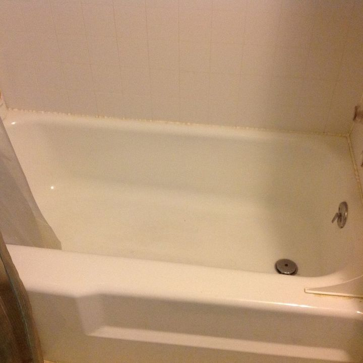 How To Refinish An Old Tub Hometalk