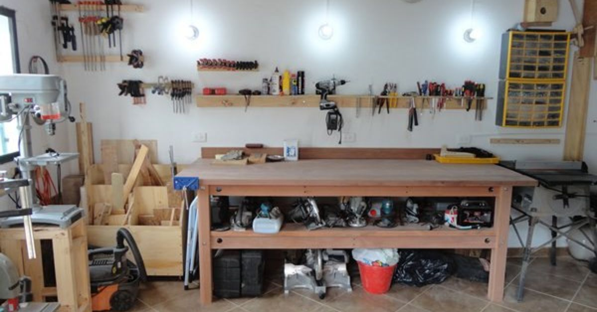 Workshop Bench Hometalk