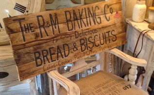 diy vintage inspired pallet wood sign, crafts, pallet, repurposing upcycling, wall decor