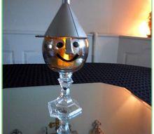 tin man candle holder, crafts, halloween decorations