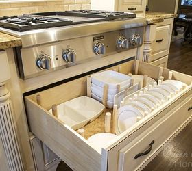 How To Dish Drawer Organizer, How To, Kitchen Cabinets, Kitchen Design,  Organizing