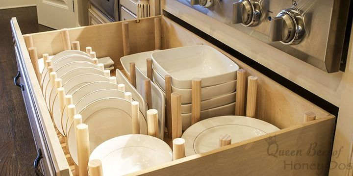 How to dish drawer organizer hometalk how to dish drawer organizer how to kitchen cabinets kitchen design organizing workwithnaturefo