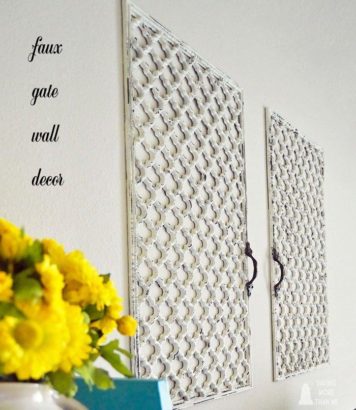 DIY Faux Wall Gate | Hometalk