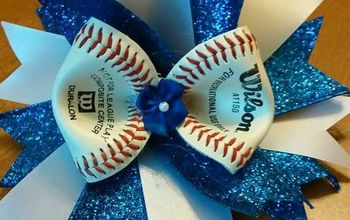 Hairbows Out of Baseballs