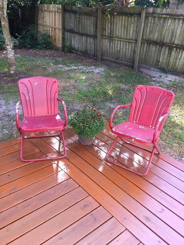how to stain your deck in less than an hour, decks, diy, home maintenance repairs, how to
