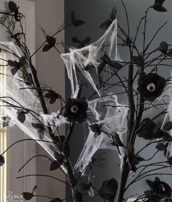 the halloween tree, halloween decorations, seasonal holiday decor
