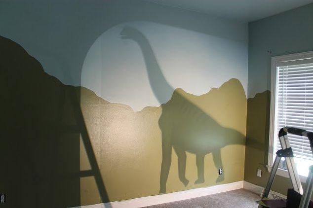 diy dinosaur themed nursery  bedroom ideas  home decor  painting  wall decor. DIY Dinosaur Themed Nursery   Hometalk