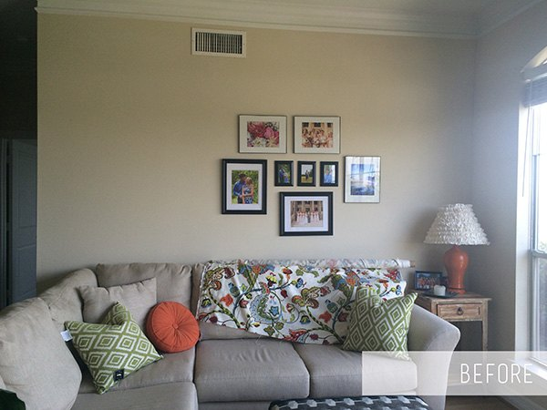 Living Room Gallery Wall | Hometalk