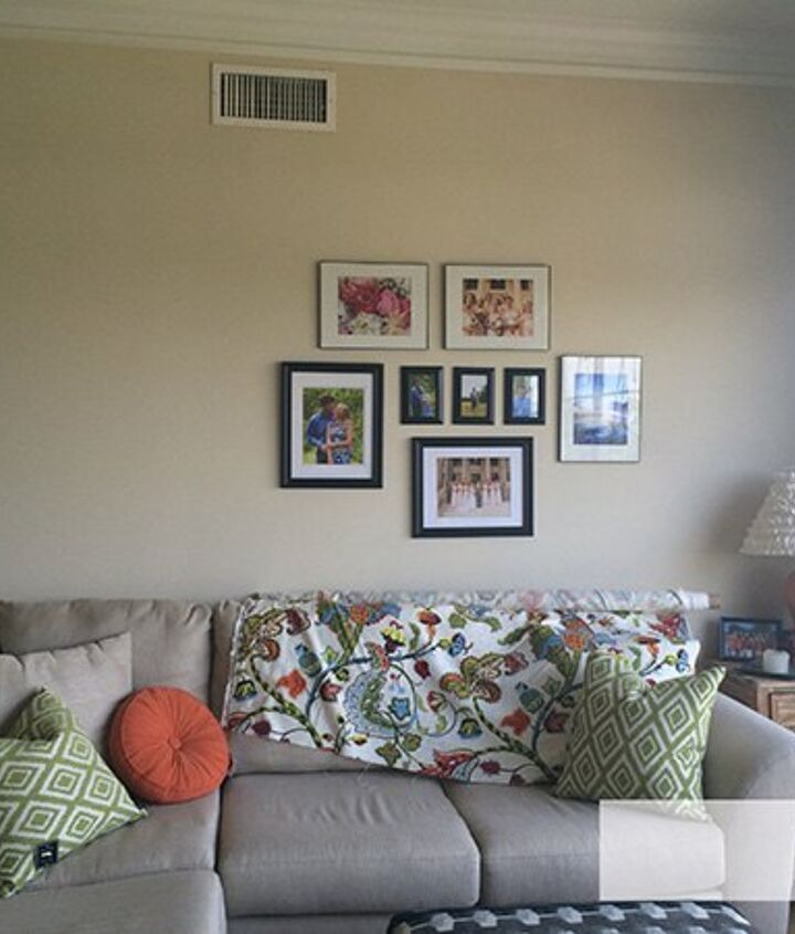 Living Room Gallery Wall Hometalk
