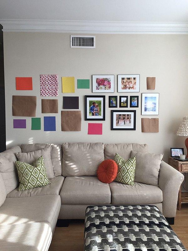 Living Room Gallery Wall | Hometalk