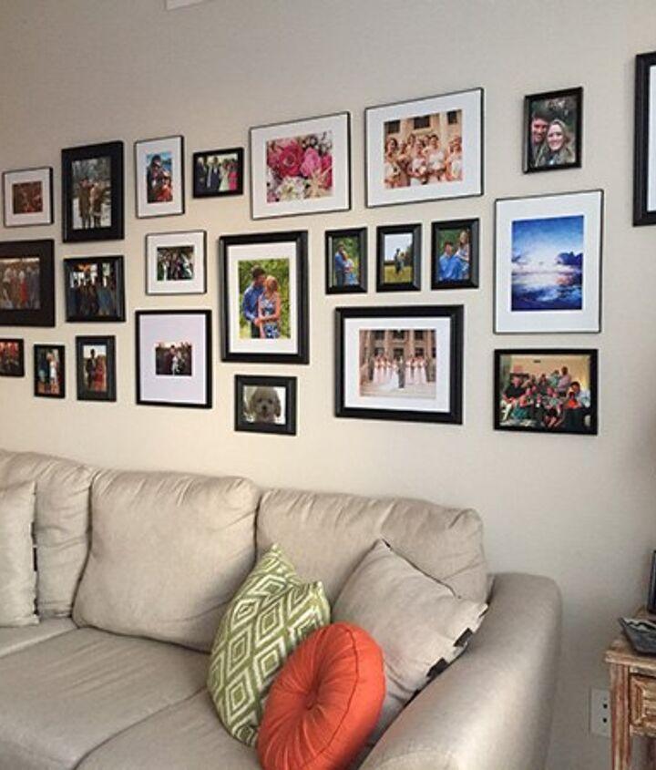 living room gallery wall, home decor, living room ideas, wall decor