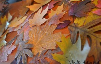 How to Easily Preserve Fall Leaves With an Iron and Wax Paper