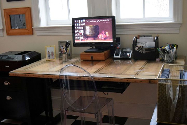 roadside rescued and up cycled office storage, diy, home office, painted furniture, repurposing upcycling, woodworking projects