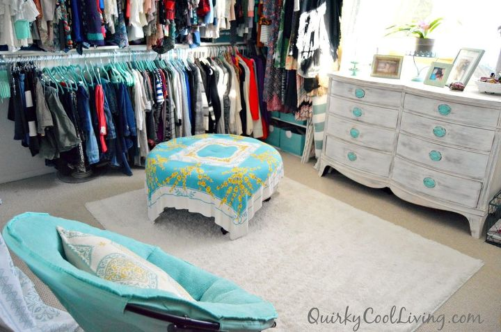 Spare Bedroom Turned Dressing Room On A Budget Ideas Closet Organizing