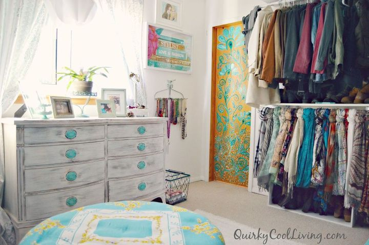 Spare Bedroom Turned Dressing Room on a Budget. | Hometalk