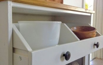 potato bin ikea hack, painted furniture, repurposing upcycling