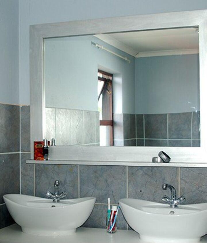 make a decorative framed mirror, bathroom ideas, diy, home decor, wall decor, woodworking projects