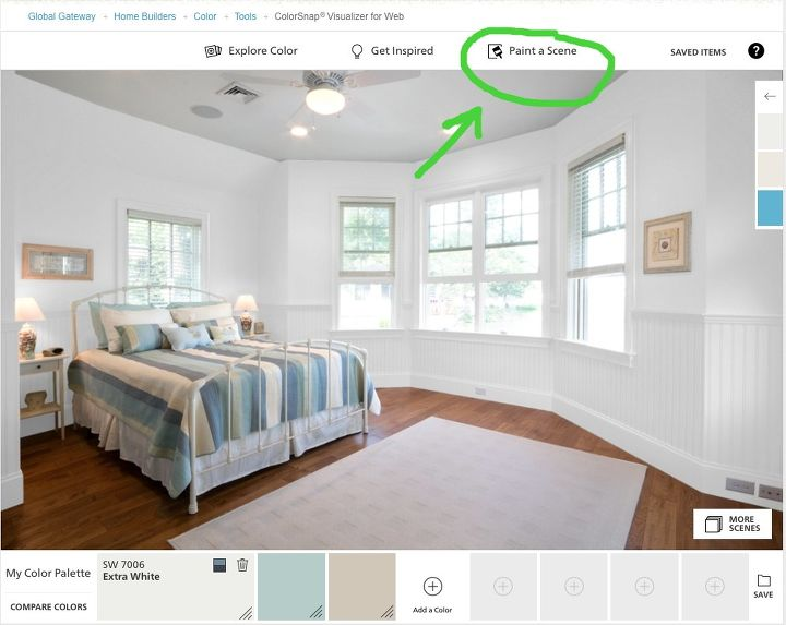 did you know you can paint your room online, paint colors, painting