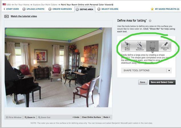 Hack A Paint Visualizer For Whole Room Color Inspiration Hometalk