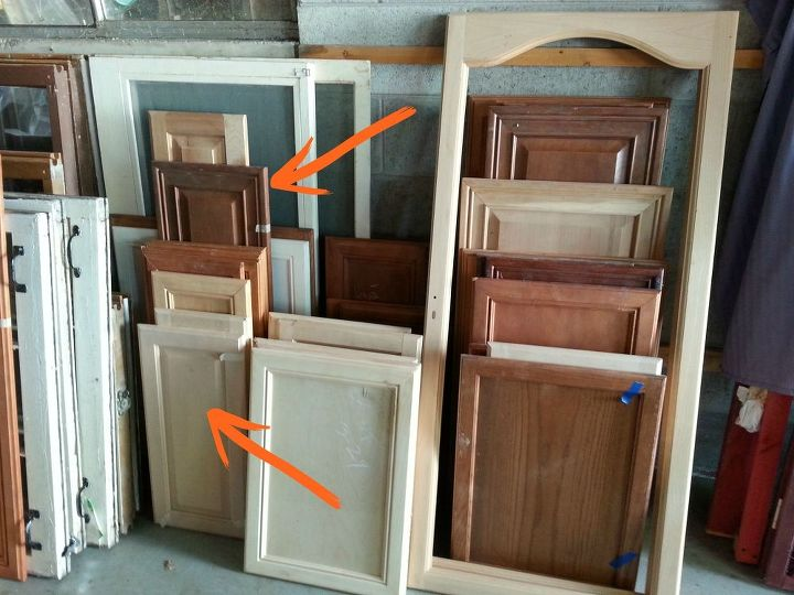 easy cabinet door projects, diy, repurposing upcycling, wall decor, woodworking projects