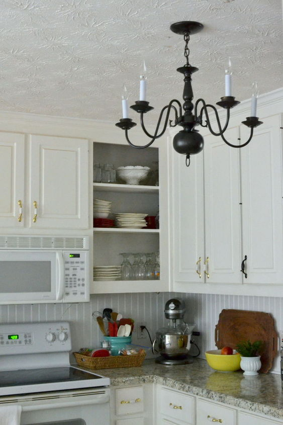 A New Farmhousestyle Kitchen Light Fixture For Hometalk - Farmhouse style kitchen light fixtures