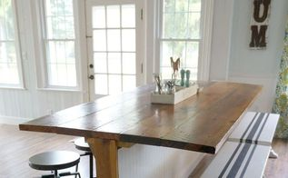 not your average barn wood table it s a barble, diy, home improvement, painted furniture, woodworking projects