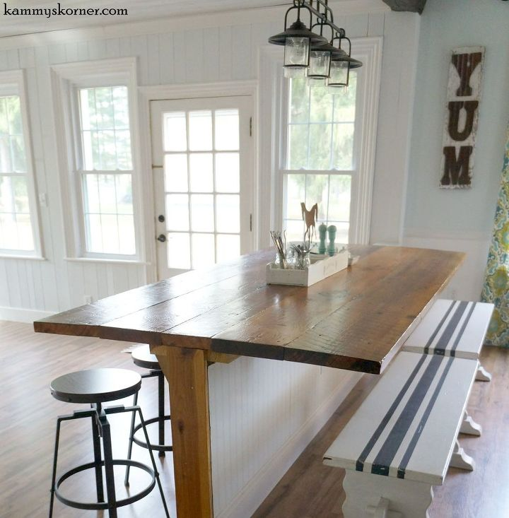 Not your average barn wood table its a barble hometalk not your average barn wood table it s a barble diy home improvement painted workwithnaturefo