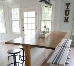 Not Your Average Barn Wood Table It S A Barble, Diy, Home Improvement,  Painted