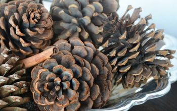 The Easy Way to Make Scented Pine Cones