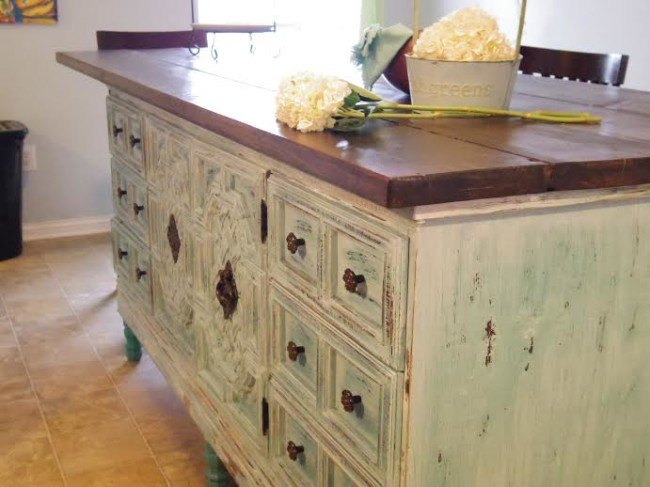 How To Turn A Dresser Into Kitchen Island Idea Design Painted Furniture