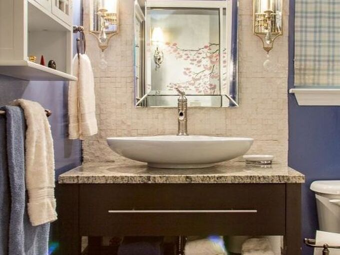 how to renovate a small bathroom on a budget, bathroom ideas, home improvement, how to, small bathroom ideas