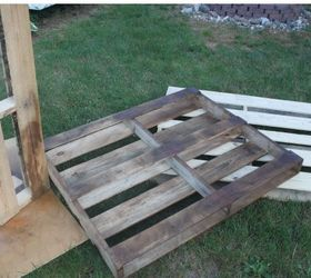 Diy Outdoor Dining Table From Wood Pallets, Diy, Outdoor Furniture, Painted  Furniture, Part 78