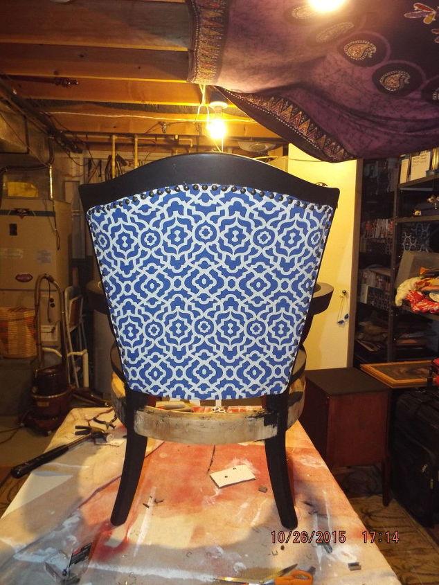 Broken Down Slipper Chair Hometalk