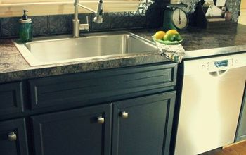 Painted Kitchen Cabinet Makeover REVEAL