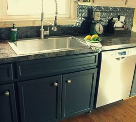 Delicieux Painted Kitchen Cabinet Makeover Reveal, Kitchen Cabinets, Kitchen Design,  Painting