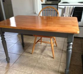 cabin kitchen table chairs refinish painted furniture woodworking projects & Cabin Kitchen Table u0026 Chairs Refinish | Hometalk