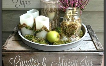 Decorate With Mossy Tape  #diylikeaboss