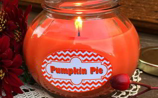 how to make a pumpkin pie candle in a jar, crafts, how to