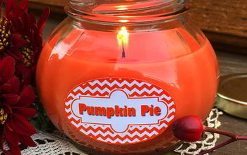 How To Make A Pumpkin Pie Candle In A Jar