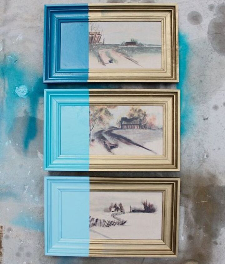 diy paint dipped artwork, crafts, home decor, wall decor