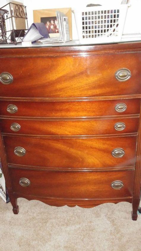 Odor From Antique Dresser Drawers