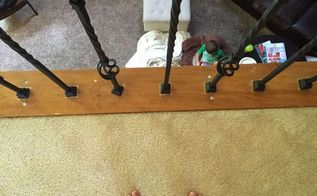 diy adding wrought iron spindles, diy, stairs, woodworking projects