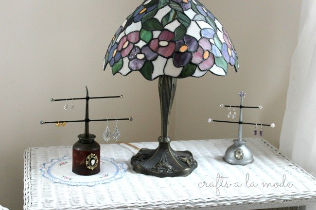 industrial jewelry holder, home decor, organizing